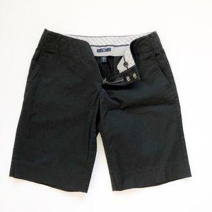 Gap Women's Black Khaki Bermuda Shorts